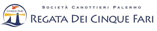 Regata dei cinque fari Retina Logo